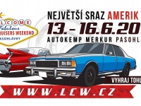 13-16.6.2019 - Lucky Cruisers Weekend (CZ)